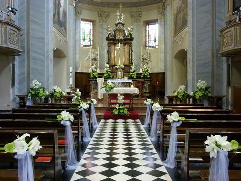 Decorazioni Per La Chiesa Matrimonio : Addobbi per matrimoni in chiesa addobbi floreali chiesa per